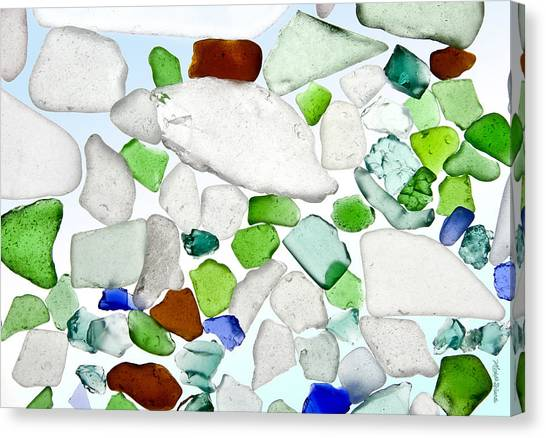 Sea Glass Canvas Print