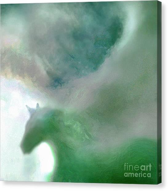 Sea Glass Storm Canvas Print