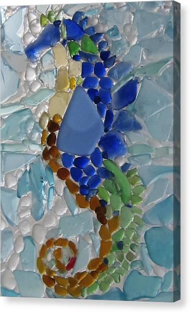 Sea Horse 1 Canvas Print