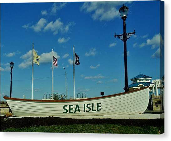 Sea Isle City Canvas Print