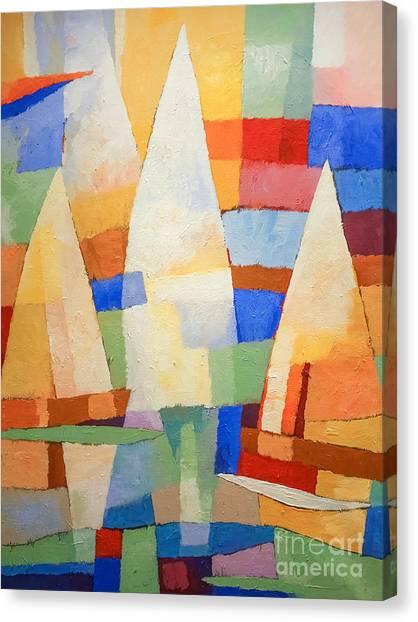 Colorplay Canvas Print - Sea Of Colors by Lutz Baar