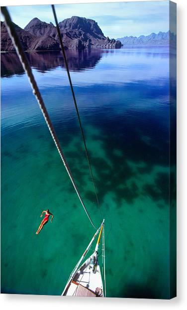Sea Of Cortez Canvas Print