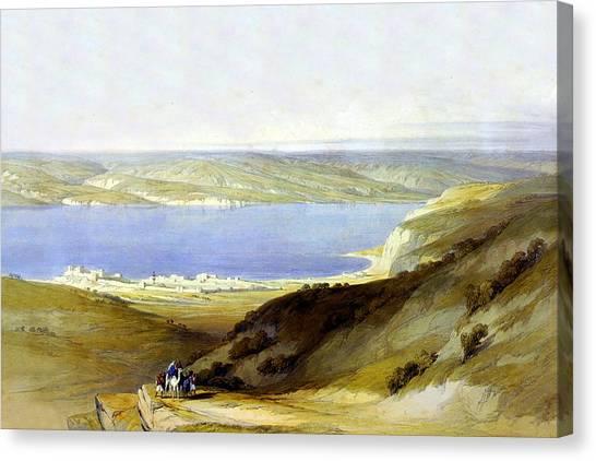 Sea Of Galilee Canvas Print