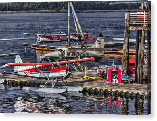 Sea Planes  1s14v1 Canvas Print