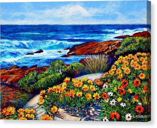 Cape Town Canvas Print - Sea Side Spring by Michael Durst