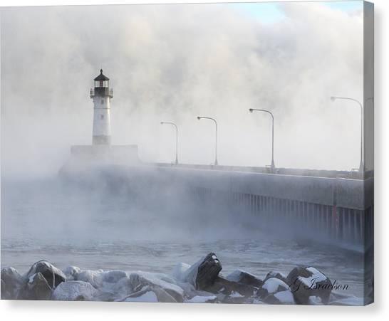 Sea Smoke Canvas Print