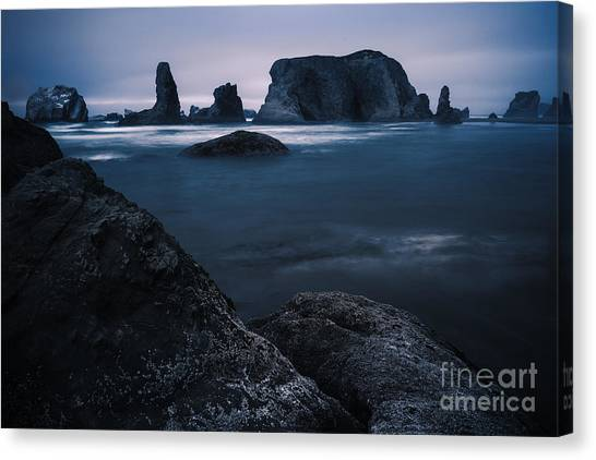 Sea Stack Galloree Canvas Print