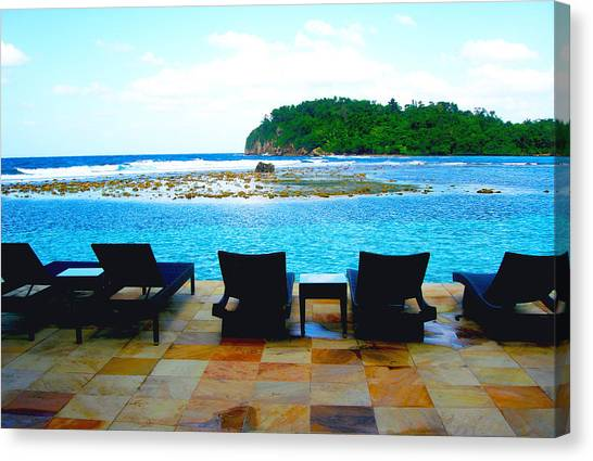 Venezuelan Canvas Print - Sea Star Villa by Carey Chen