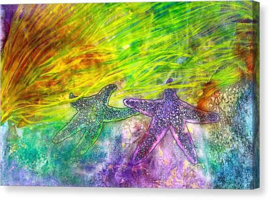 Sea Stars Canvas Print