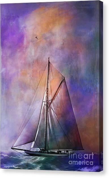 Sea Stories. II Canvas Print
