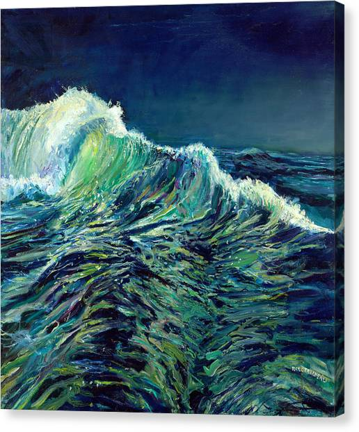Sea Swells Canvas Print