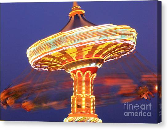 Sea Swings Canvas Print