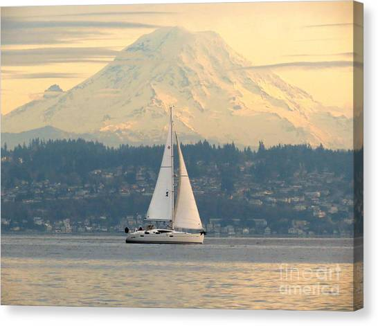 Sea To Sky Canvas Print