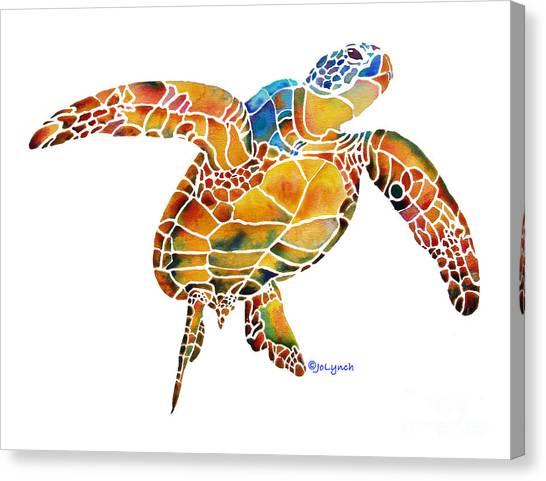 Sea Turtle Gentle Giant 2 Canvas Print