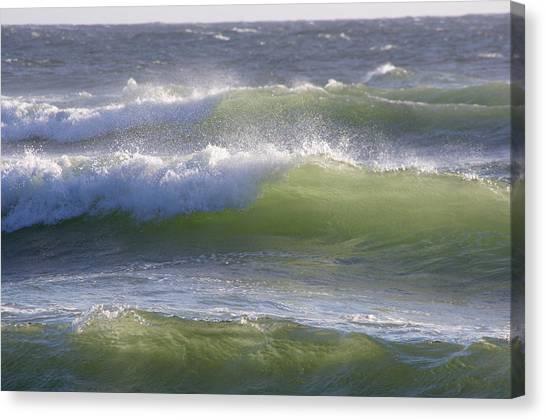 Sea Waves Canvas Print