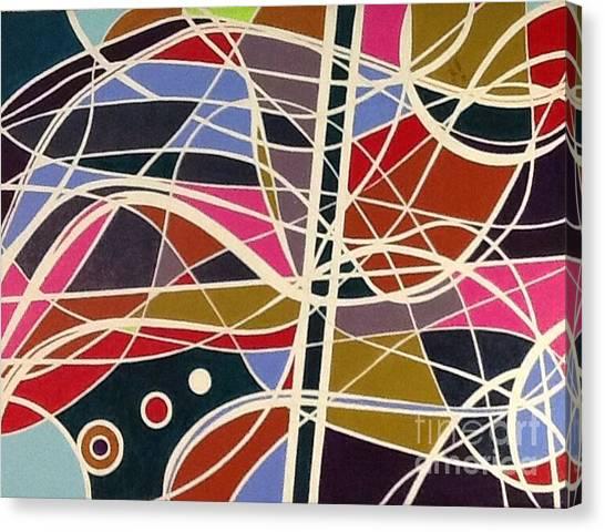 Seaching Canvas Print
