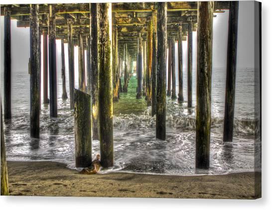 Seacliff Pier Canvas Print