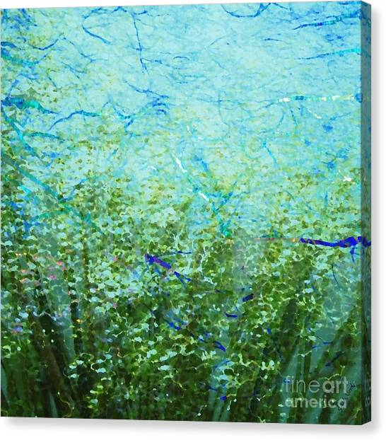 Seagrass Canvas Print