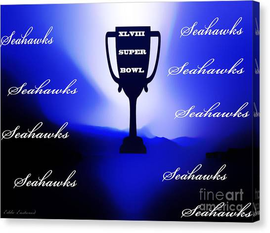 Seahawks Super Bowl Champions Canvas Print