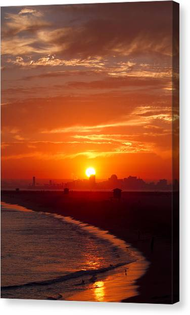 Seal Beach 7 Canvas Print