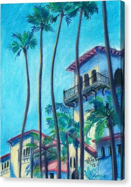 Seal Beach City Hall Canvas Print