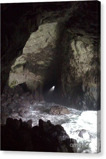 Seal Cave Canvas Print by Jeff Pickett