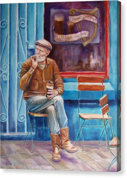 Sean Demsey And The Rare Auld Times Canvas Print by Bernie Rosage Jr