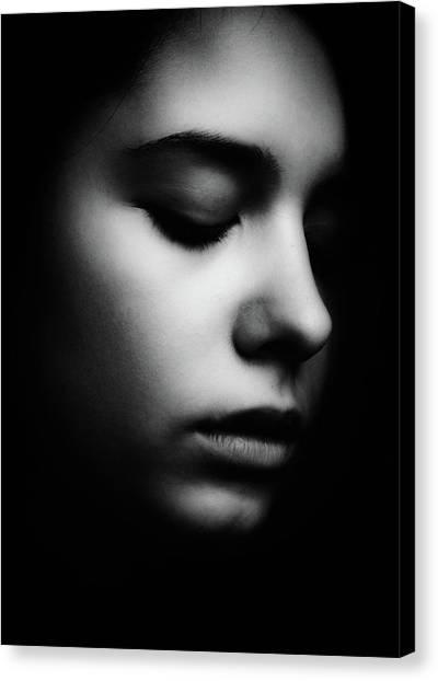 Nose Canvas Print - Search by Mirjana Kovachevic