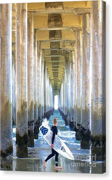 Searching For Peace Canvas Print