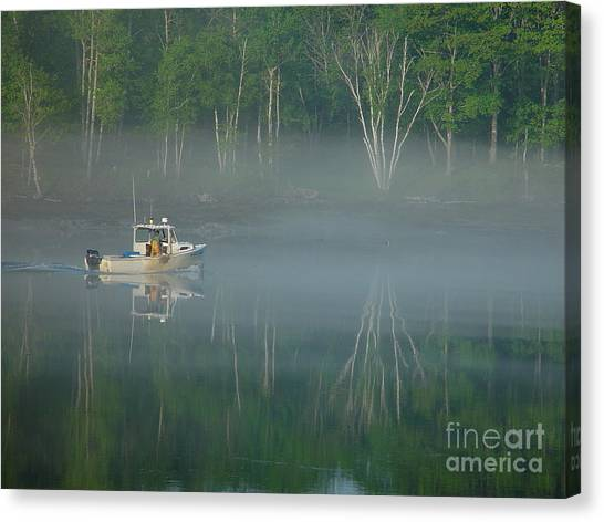 Searching For The Buoy Canvas Print