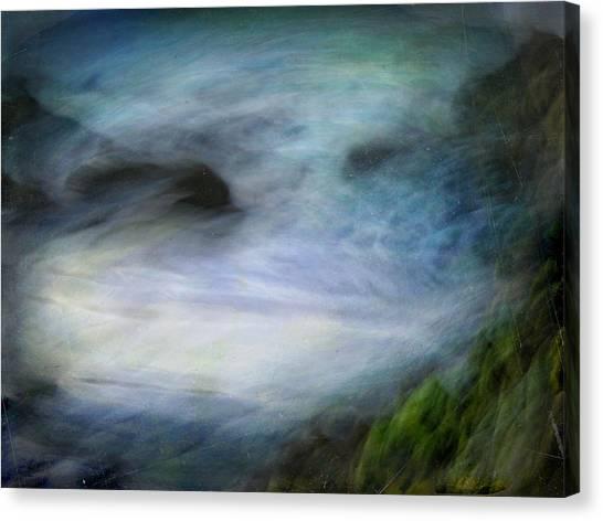 Seascape #14. Sighs Canvas Print by Alfredo Gonzalez