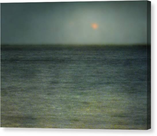 Seascape #5. Sun Sea Horizon Canvas Print