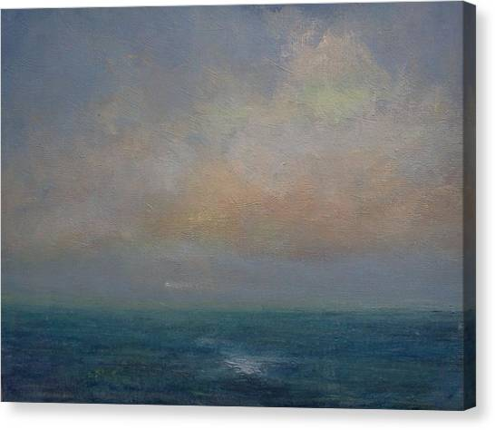 Seascape - A Nereid Sighting Canvas Print