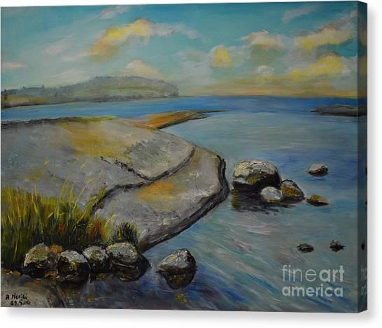 Seascape From Hamina 1 Canvas Print