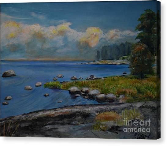 Seascape From Hamina 2 Canvas Print