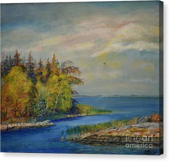 Seascape From Hamina 3 Canvas Print