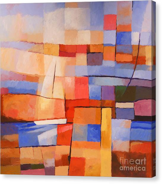 Colorplay Canvas Print - Seascape Image by Lutz Baar
