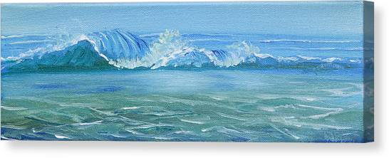 Seascape Wave IIi Canvas Print