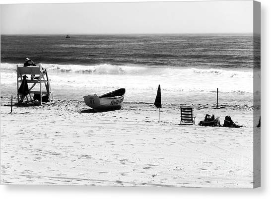 Seaside Beach Days Canvas Print by John Rizzuto