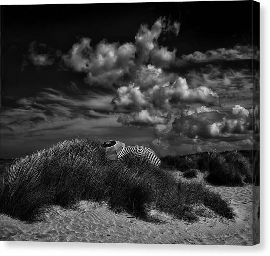 Belgium Canvas Print - Seaside Rendez-vous ... by Yvette Depaepe
