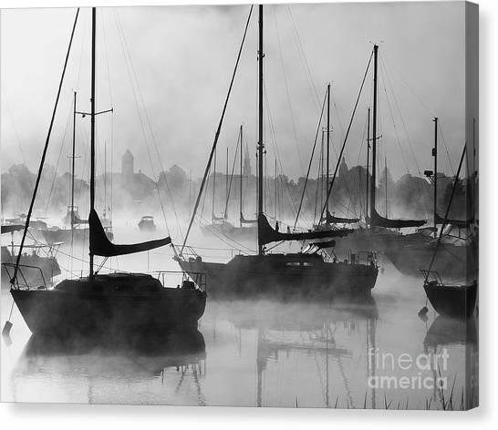 Seasmoke Canvas Print