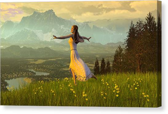 Season Of The Dance Canvas Print
