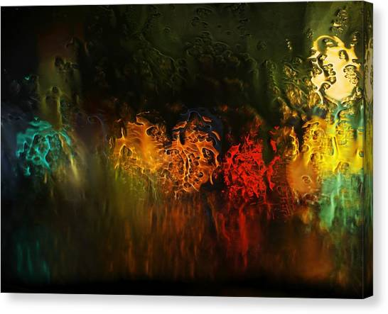 Seasons Fireballs Canvas Print