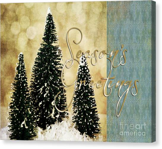 Season's Greetings Canvas Print
