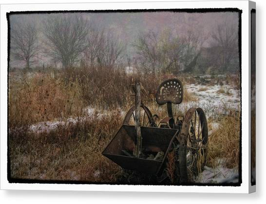 Season's Over Canvas Print