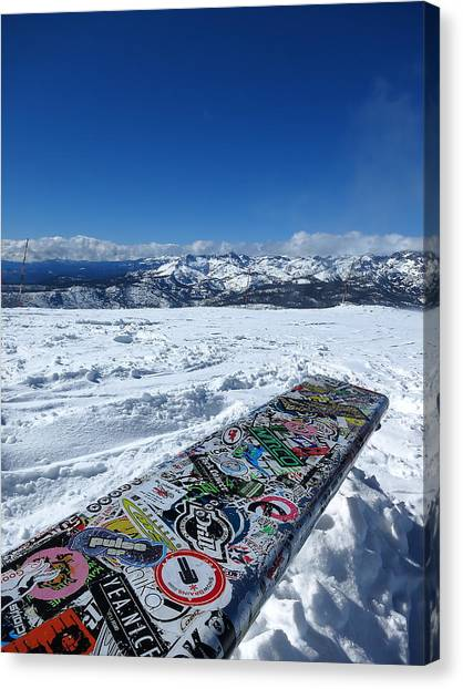 Seat At The Top Of The World Canvas Print