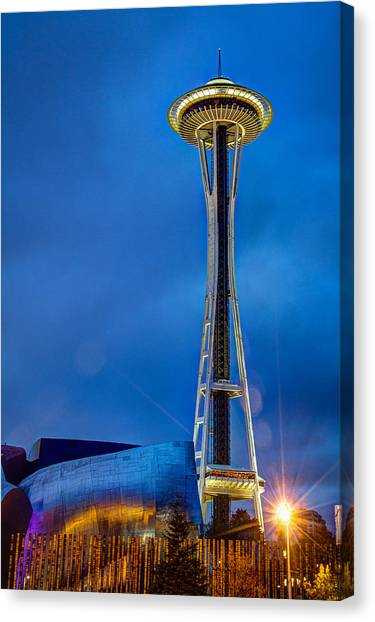 Seattle Impressions Canvas Print