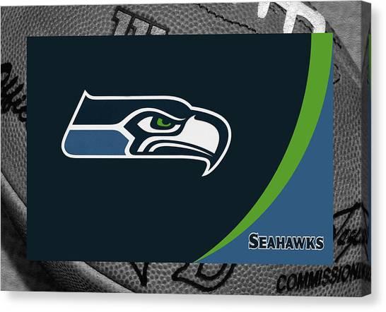 Seattle Seahawks Canvas Print - Seattle Seahawks by Joe Hamilton