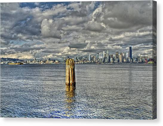 Seattle Skyline And Cityscape Canvas Print