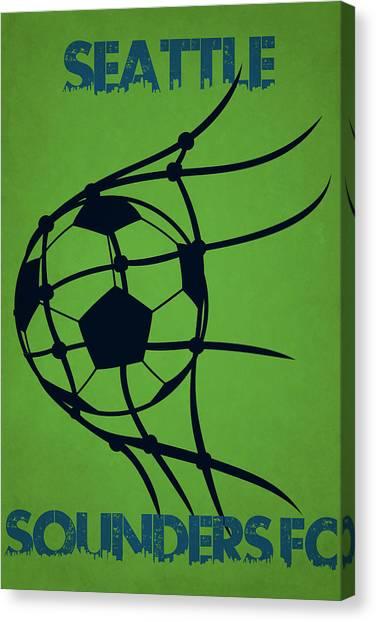 Seattle Sounders Fc Canvas Print - Seattle Sounders Fc Goal by Joe Hamilton